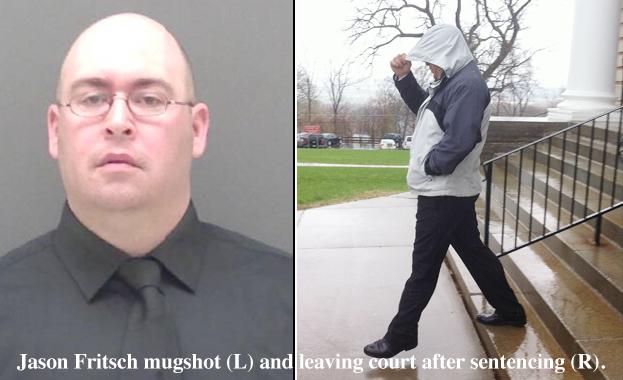 Fritsch Sentenced to 3 Months of Weekends After Rape Plea Deal