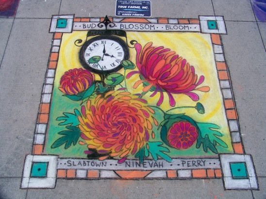 Contests at Perry Chalk Festival Reward Great Art