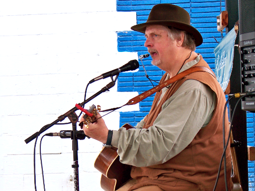 Saturday Morning Entertainment in Perry with Musician Allen Hopkins