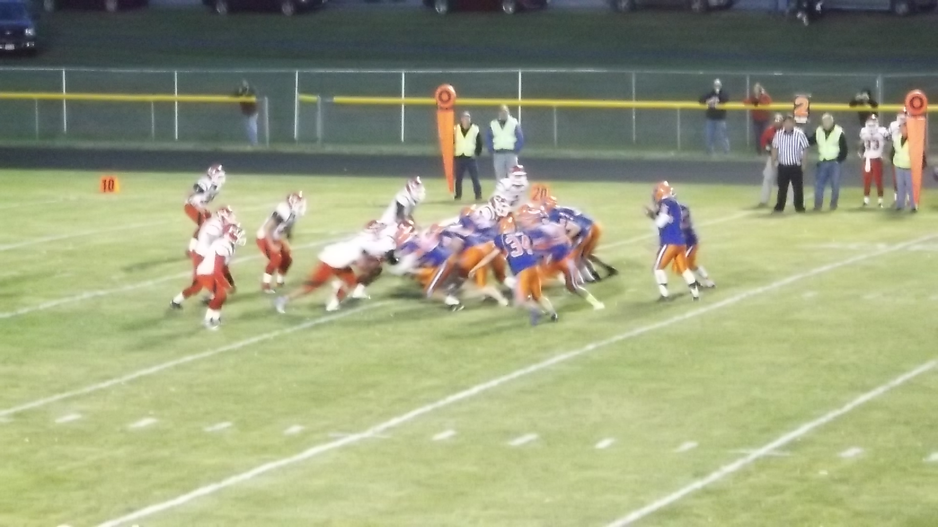 FOOTBALL: Livonia Crushes Hornell Under The Lights