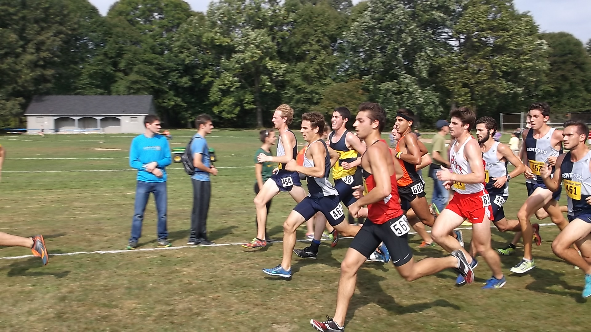Mustangs Cross Country Team Finish in Top Six
