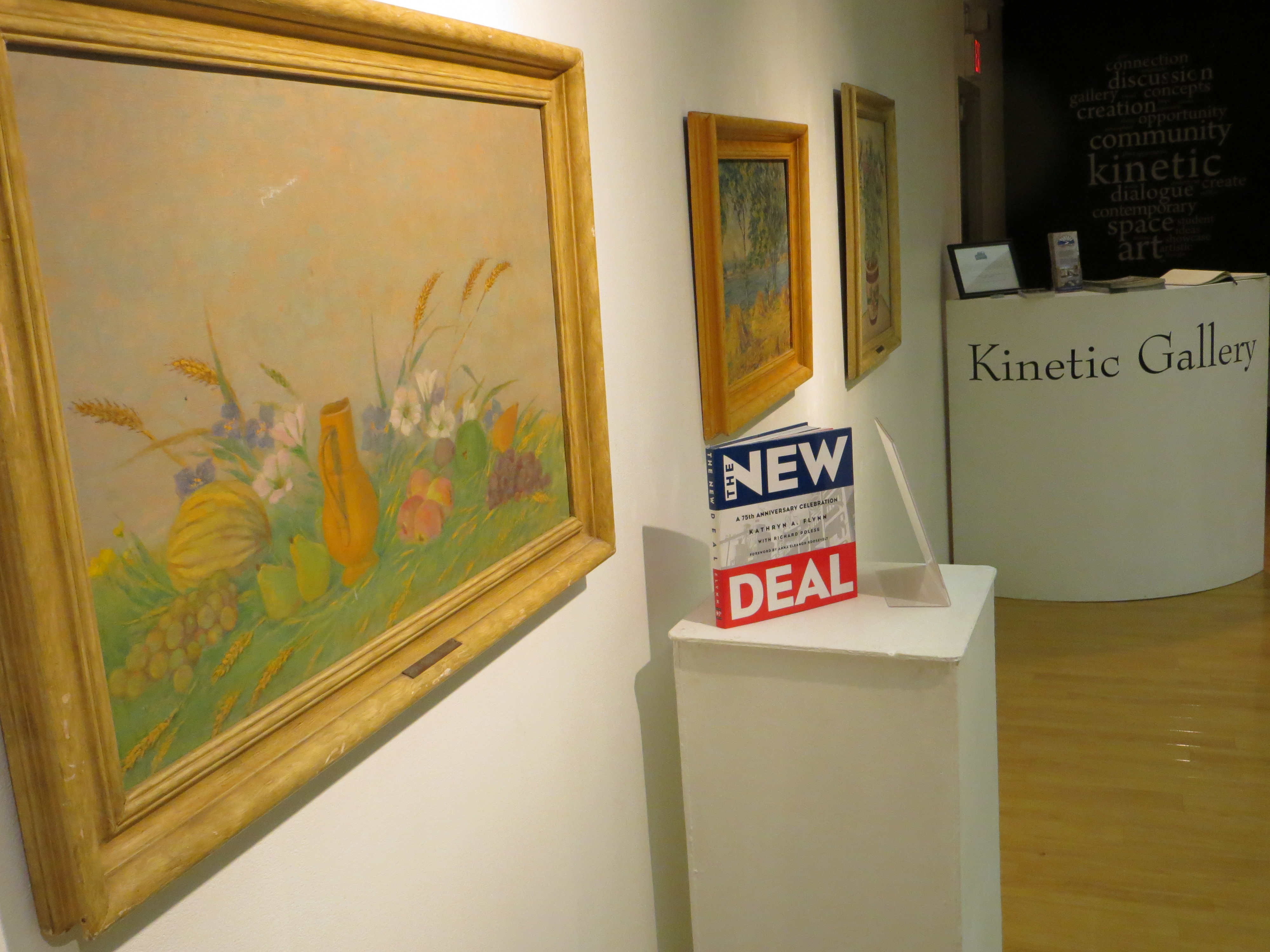 Kinetic Gallery Showcases Authentic 'New Deal Era' Art Exhibit