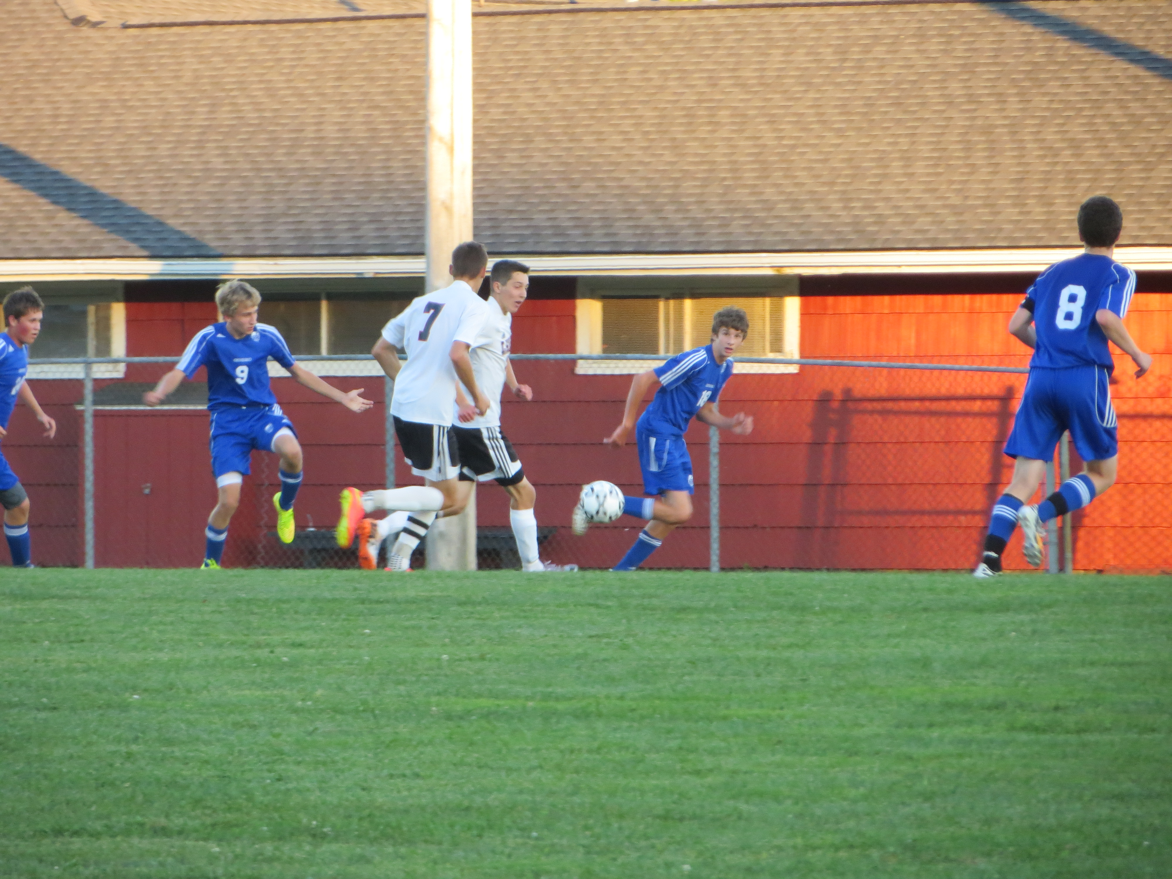 BOYS' SOCCER: Le Roy Knights Claim a Victory Over Geneseo