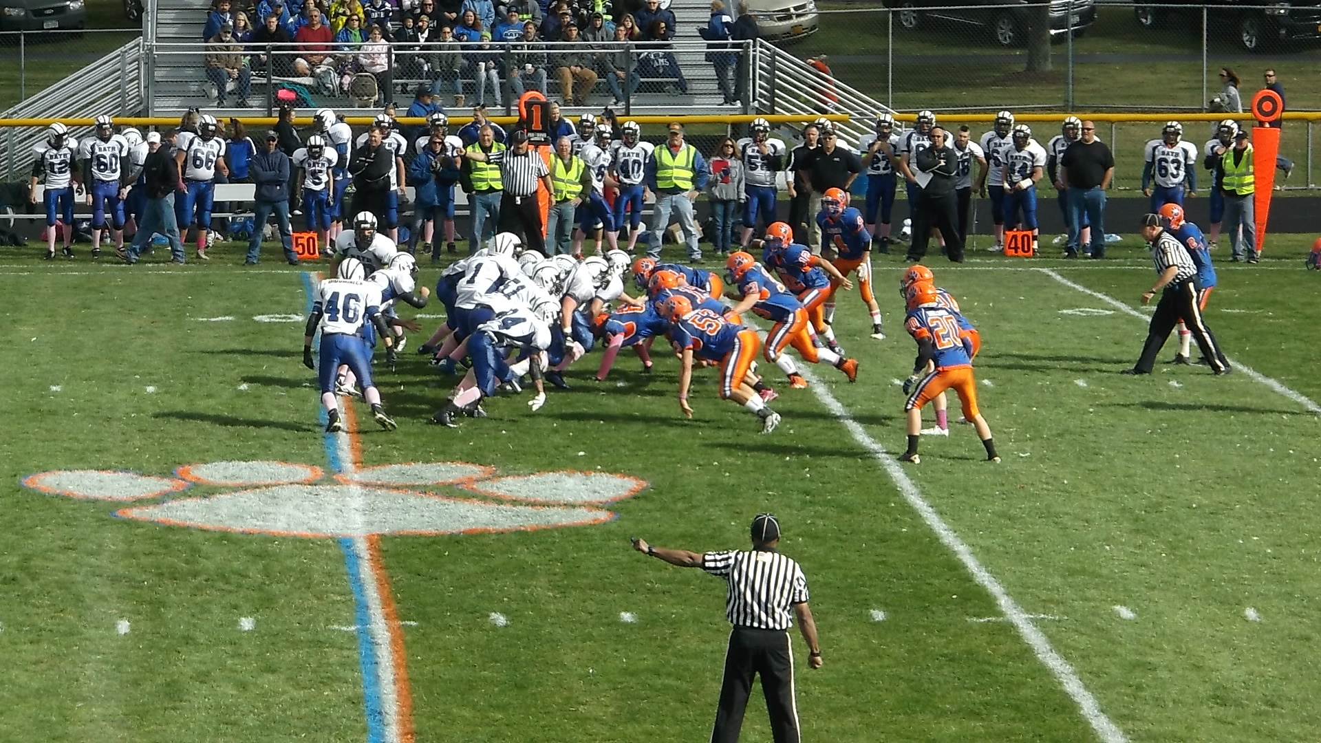 VARSITY FOOTBALL: Livonia vs Bath Does Not Disappoint