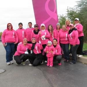 ab cole breast cancer walk