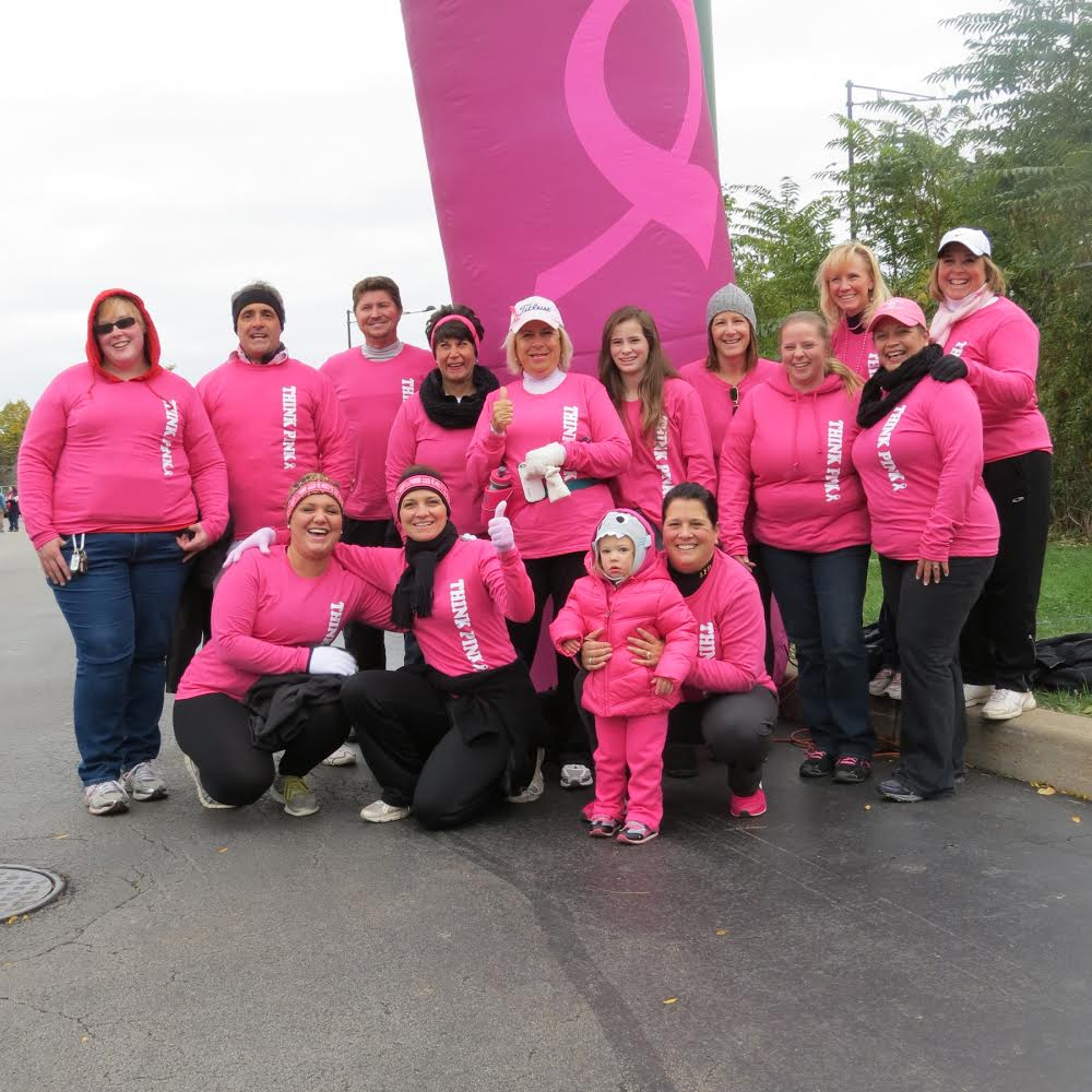 AB Cole Takes Strides Against Breast Cancer