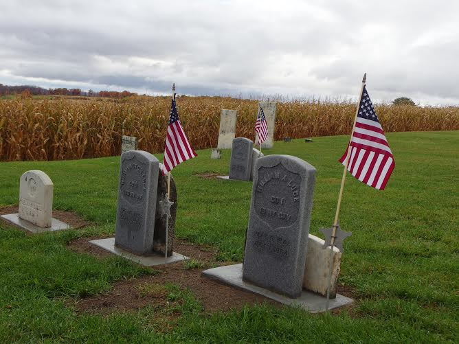 New Headstones Immortalize Three Local Civil War Brothers