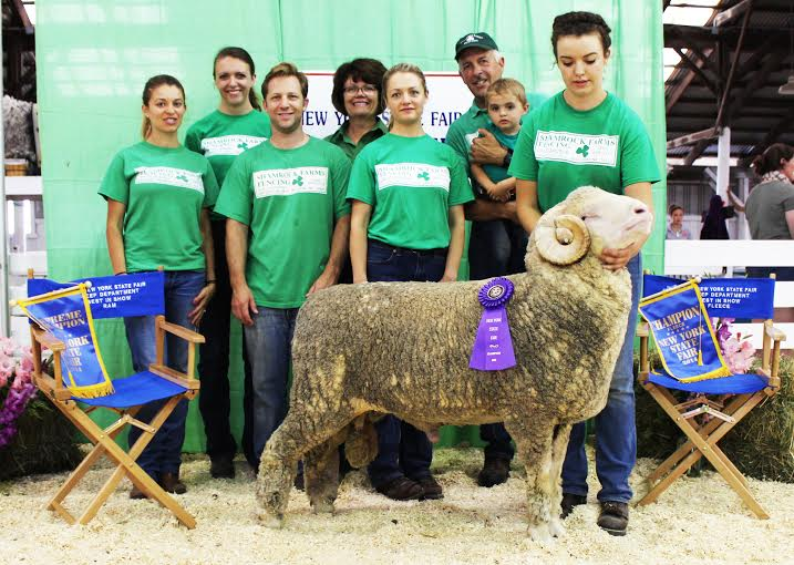 Winning Ram Is 'Thrice As Nice' For Livingston County Family