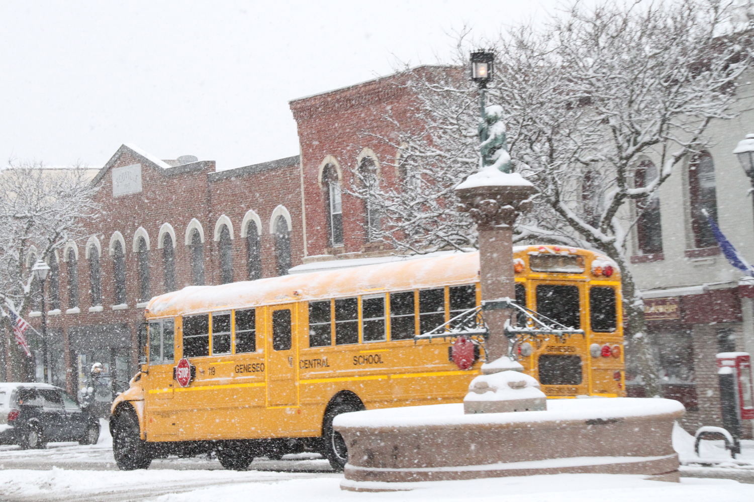 Geneseo Sending Students Home Early, Heavier Snow Expected Tonight