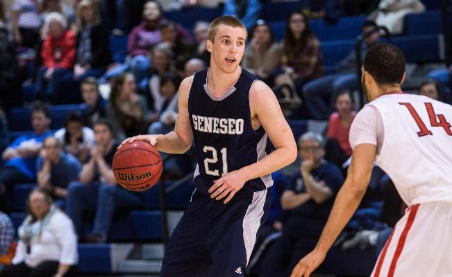SUNY Geneseo: Men's Basketball Topples Rose-Hulman