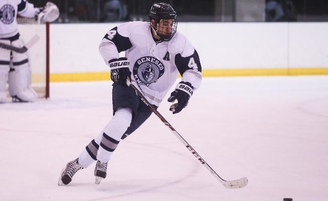 SUNY GENESEO: Ice Hockey Set For A Big Weekend