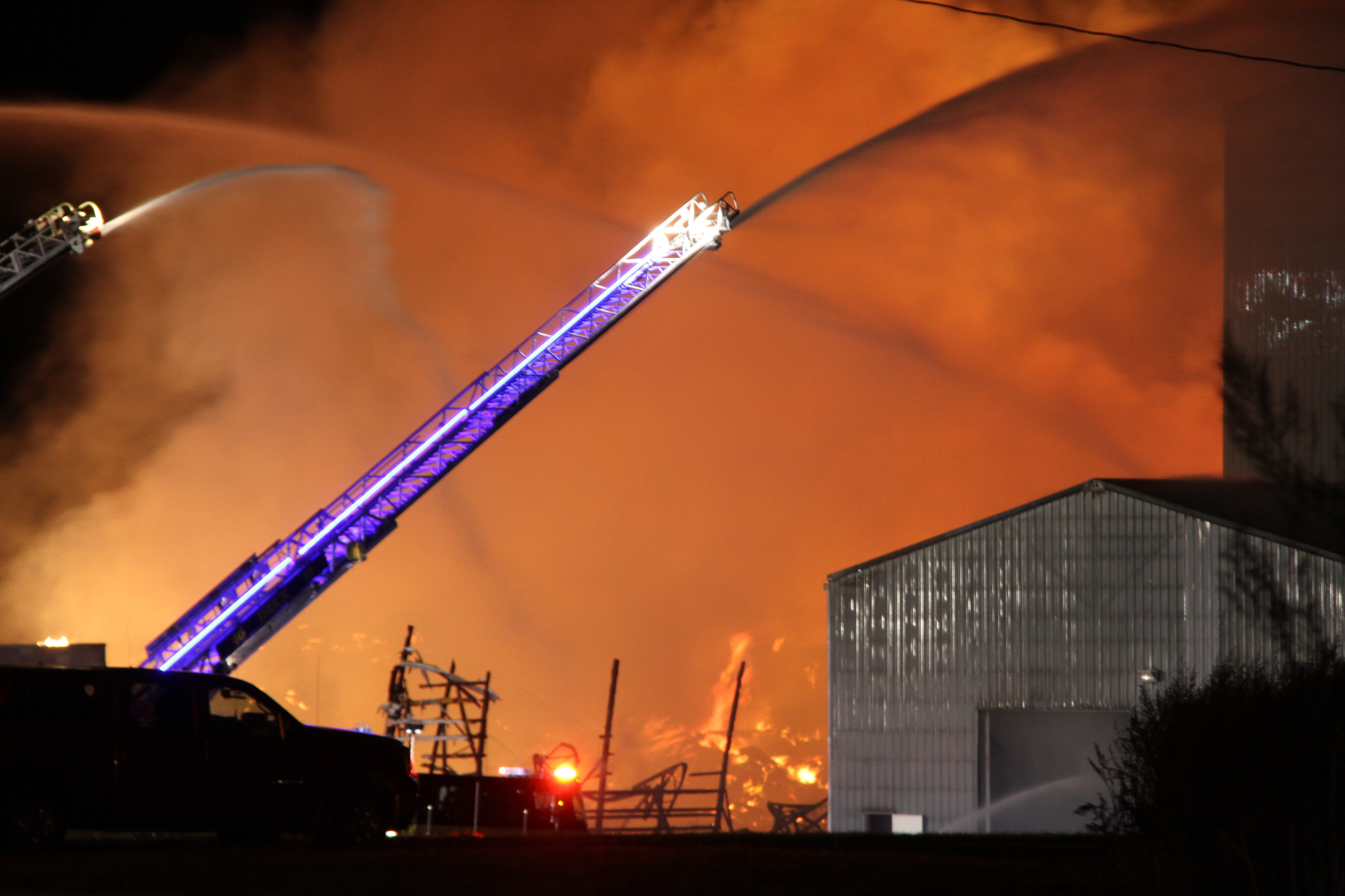 UPDATE: Caledonia Fertilizer Plant a Total Loss After Fire