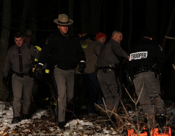 Letchworth Rope Rescue After Man Falls near Overlook