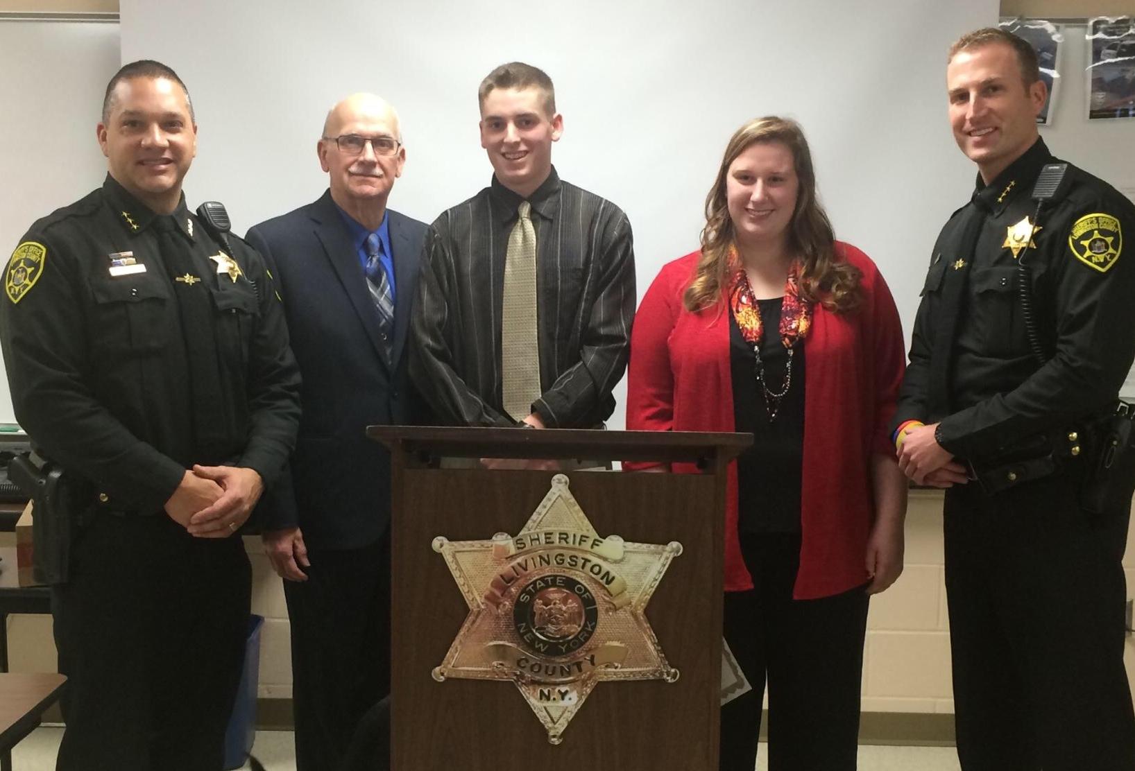 Sheriffs Association Sponsors Outstanding Local Criminal Justice Students