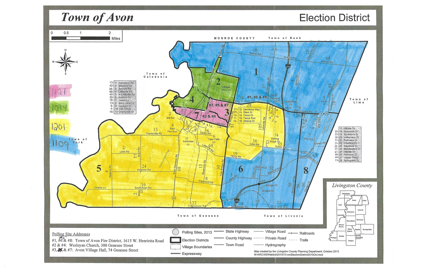 County Nearing Approval of Final Voter Redistricting