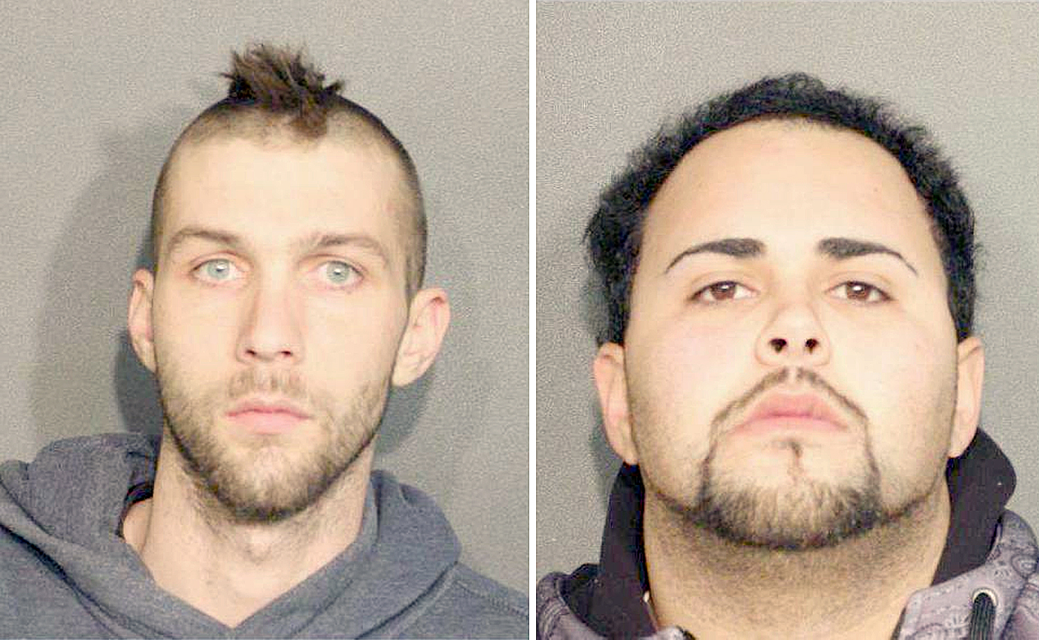 Two Busted for Heroin after Throwing it in Ditch