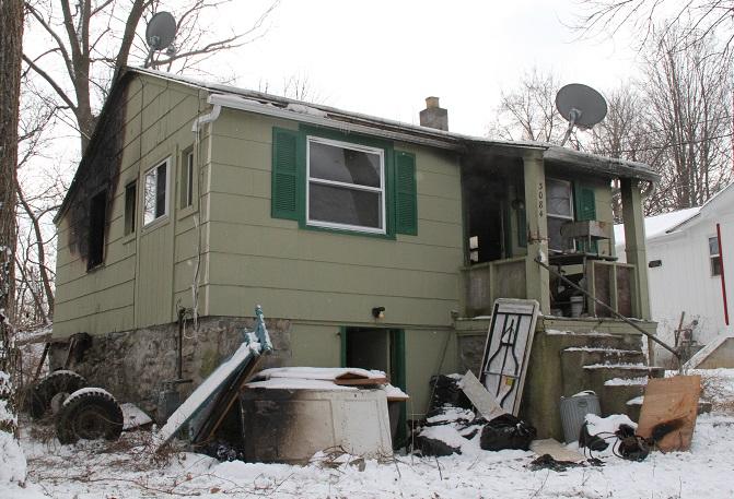 Fire Ruins Home, Former Resident Baffled