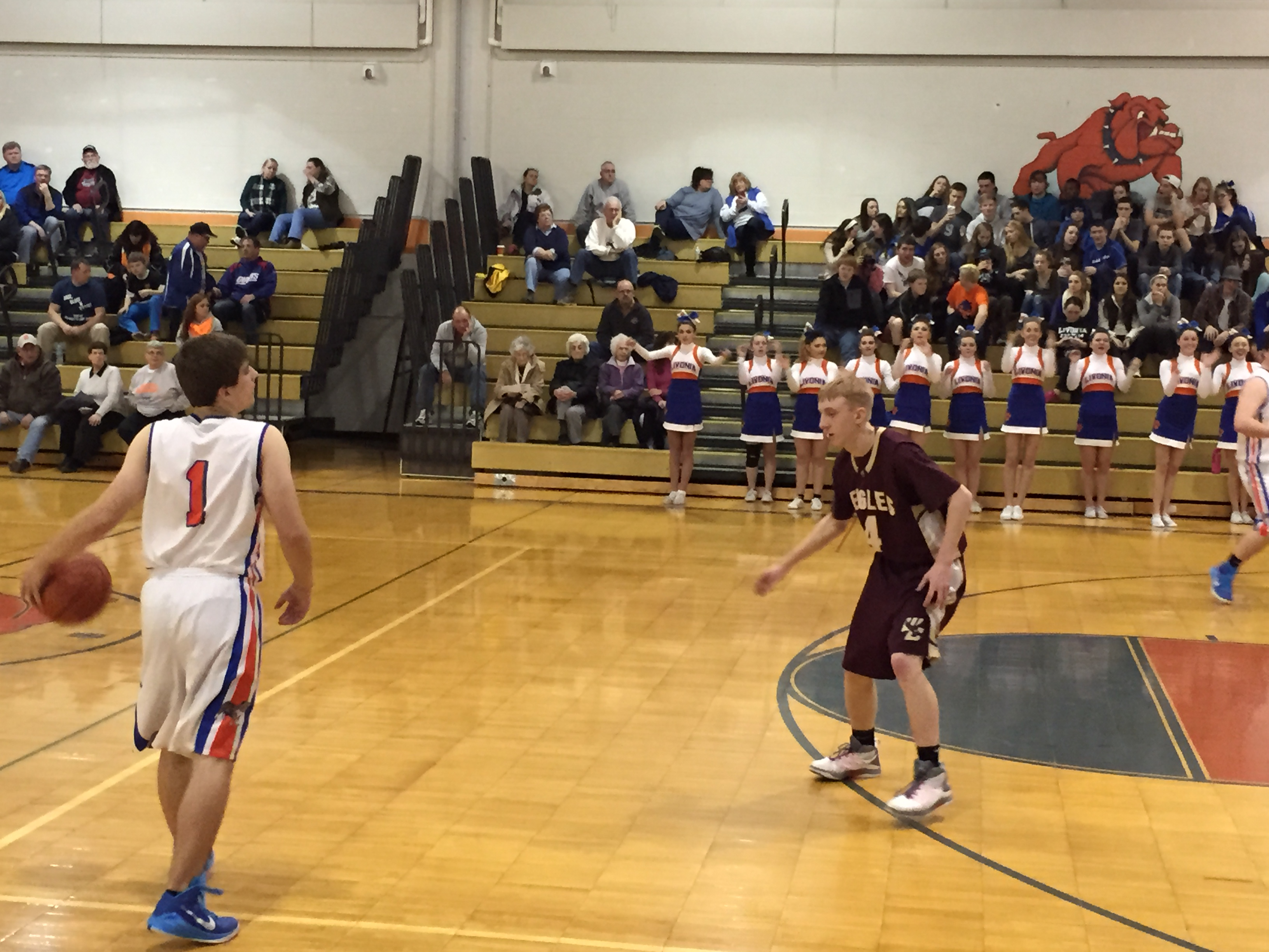 BOY'S BASKETBALL: Livonia Defeats Wayland-Cohocton