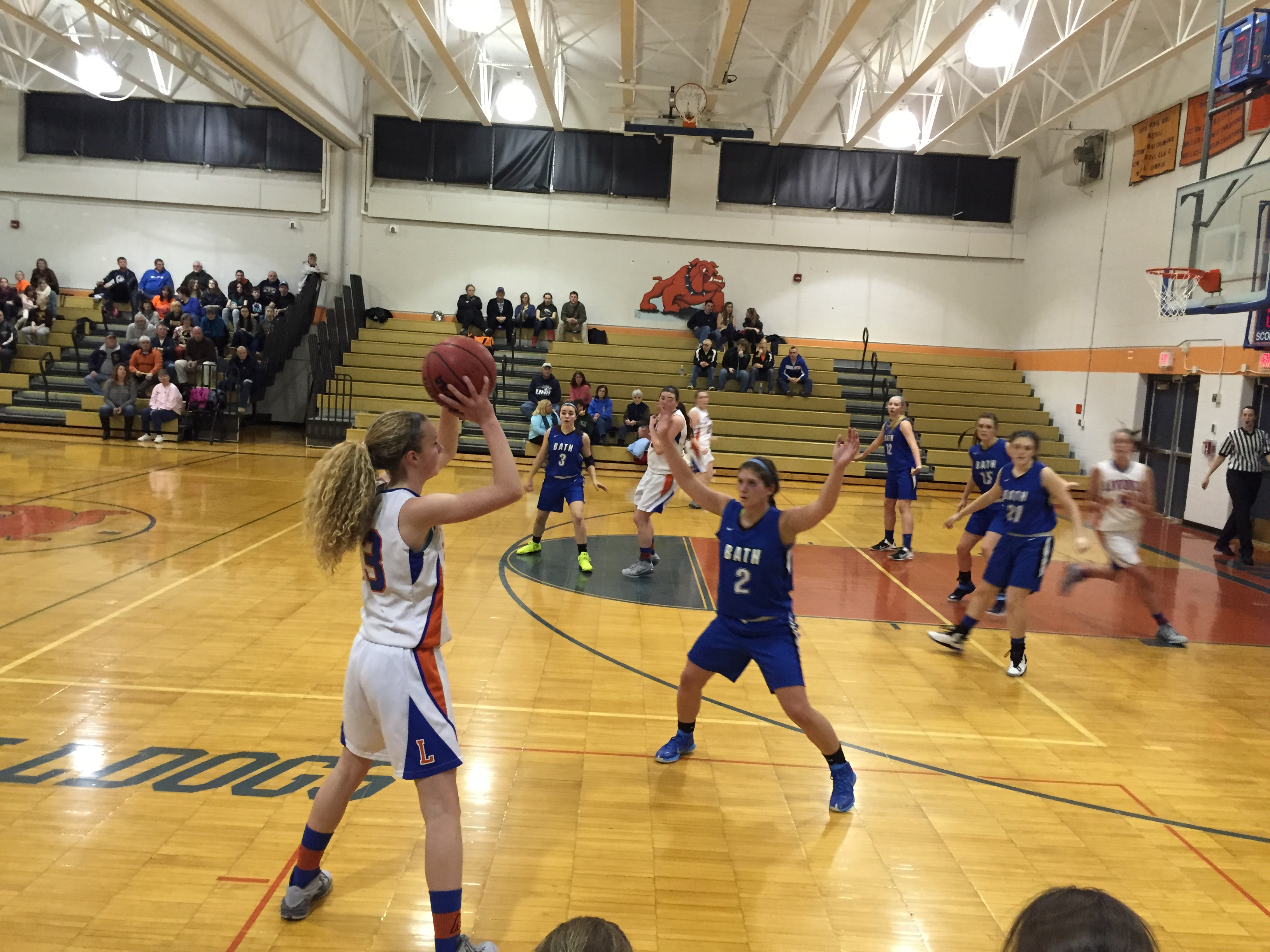 GIRLS BASKETBALL: Livonia Defeats Bath-Haverling