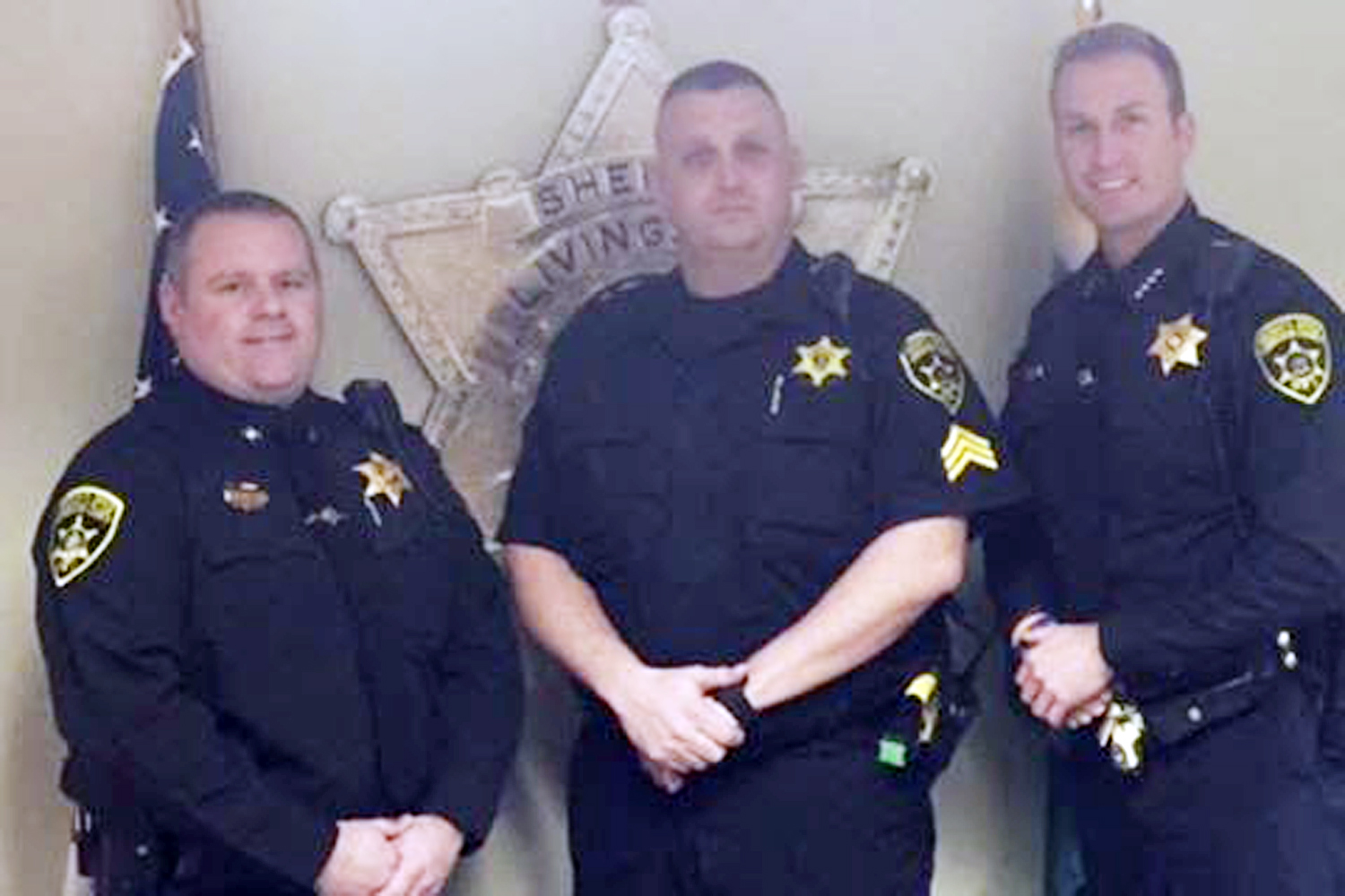 Off-Duty Deputy and Wife Save Neighbor's Life