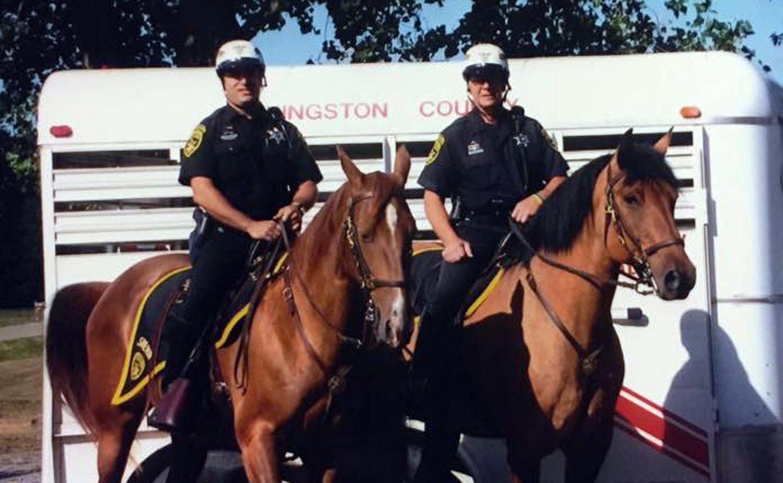 Buckshot, Beloved Sheriff Mounted Patrol Horse, Passes Away