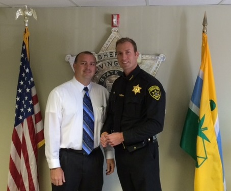 Sheriff's Office Welcomes Mann as Director of Communications