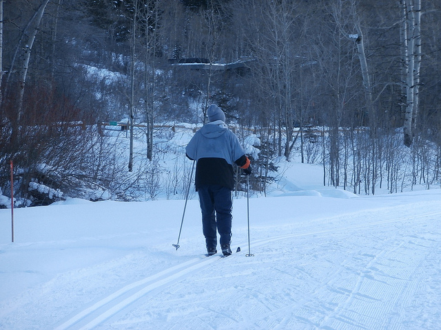 Genesee Valley Conservancy Cross Country Skis Protected Land