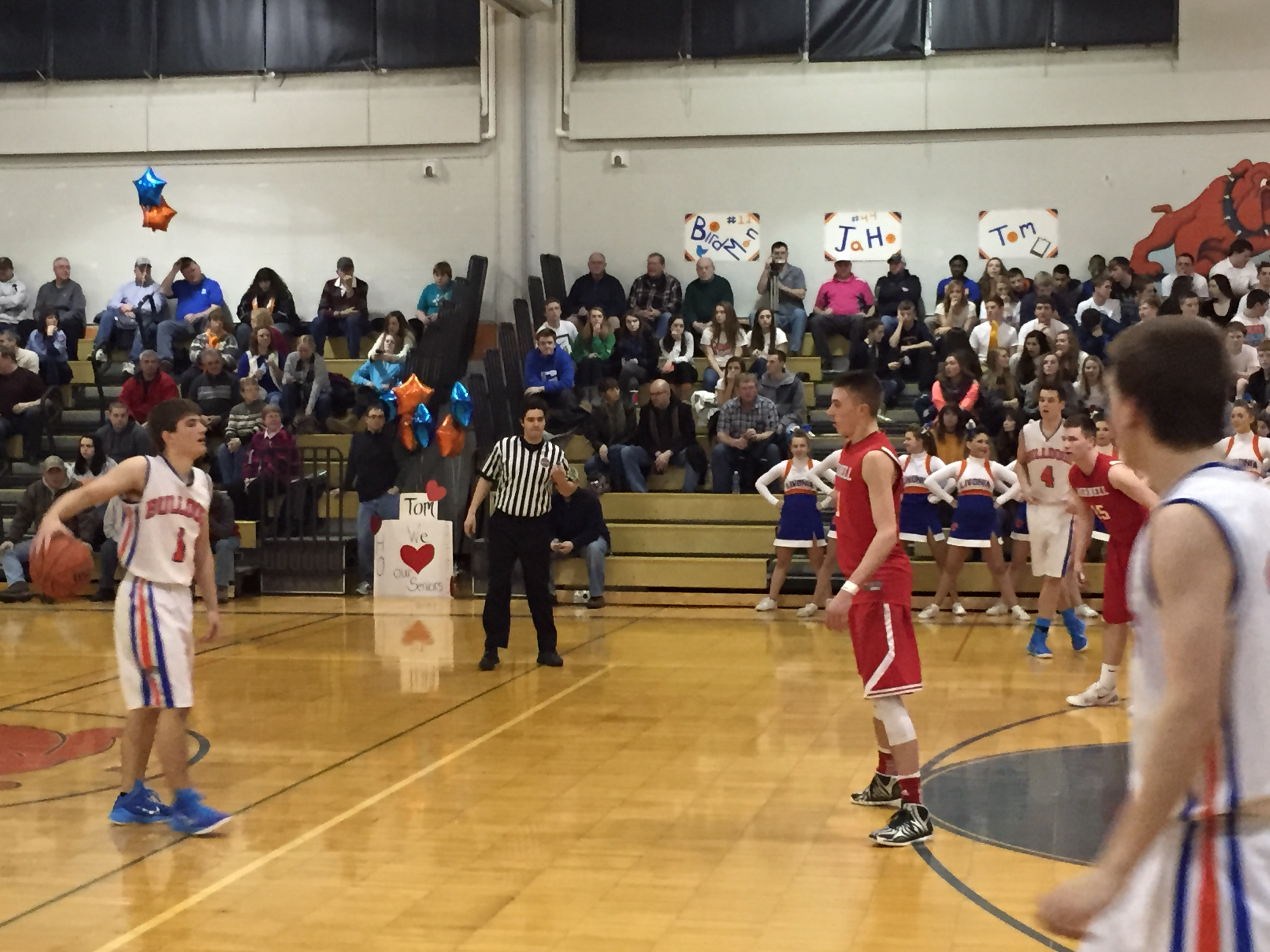 Livonia Shares Division Title with Hornell