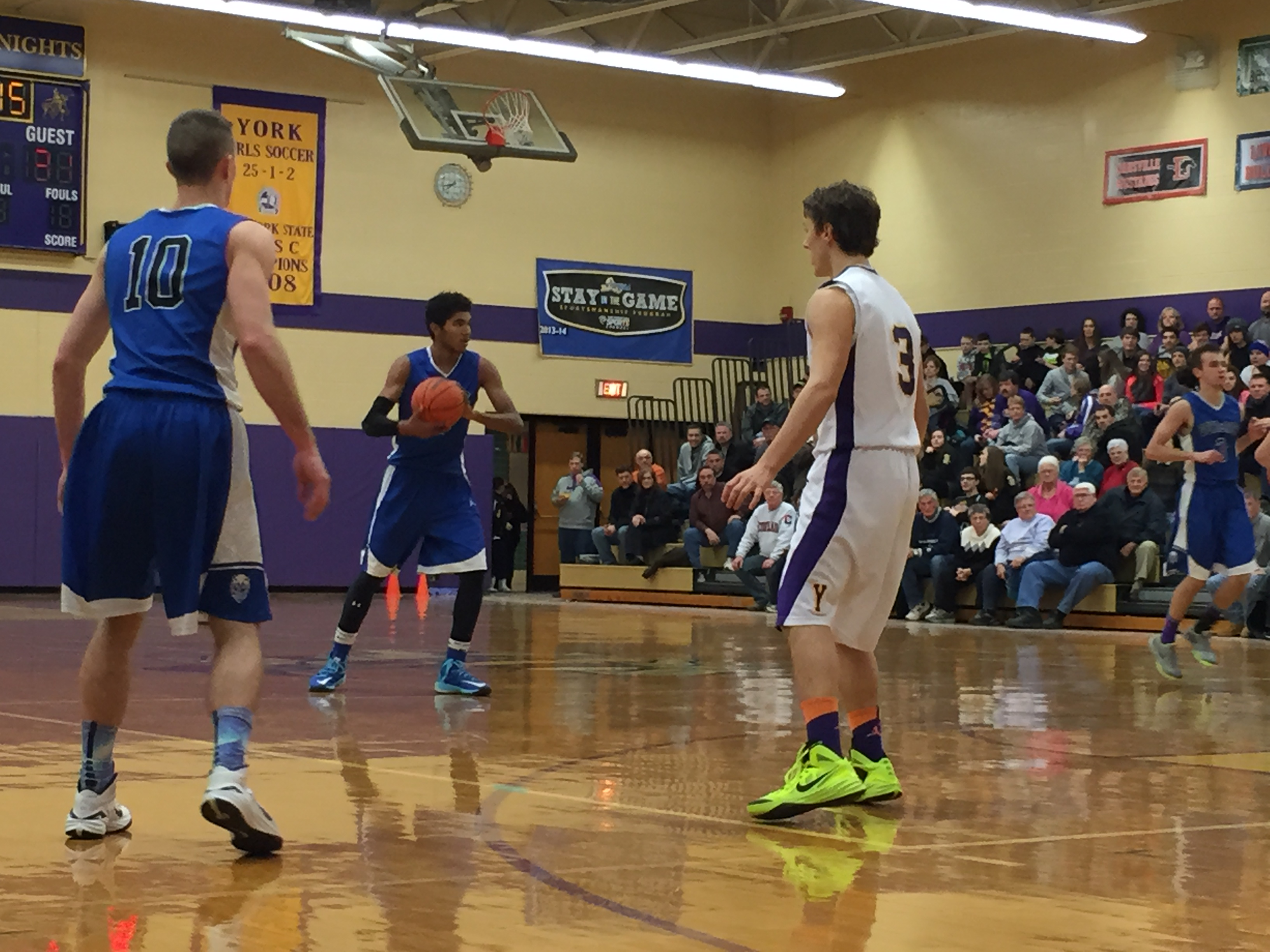 BOYS BASKETBALL: Geneseo Defeats Pavilion In Season Finale