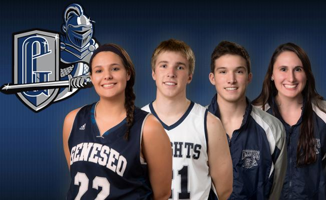 SUNY Geneseo: Four Knights Earn Weekly SUNYAC Honors