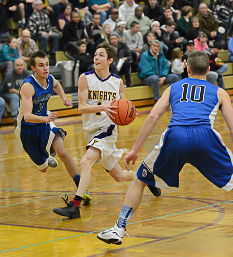 BOYS BASKETBALL: York Defeats Geneseo in Battle of the Valley