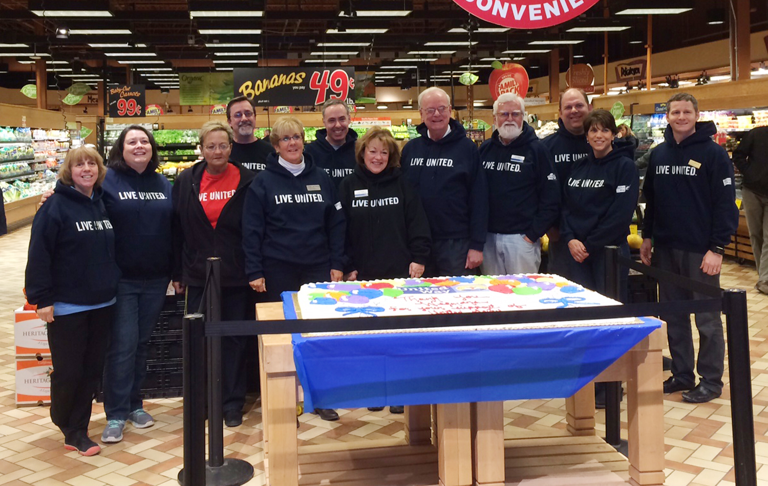 United Way of Livingston County Kicks Off 2015 Campaign with Wegmans