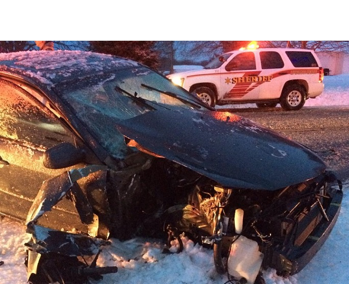 Head-on Crash with Plow Reminds All to Drive Safe