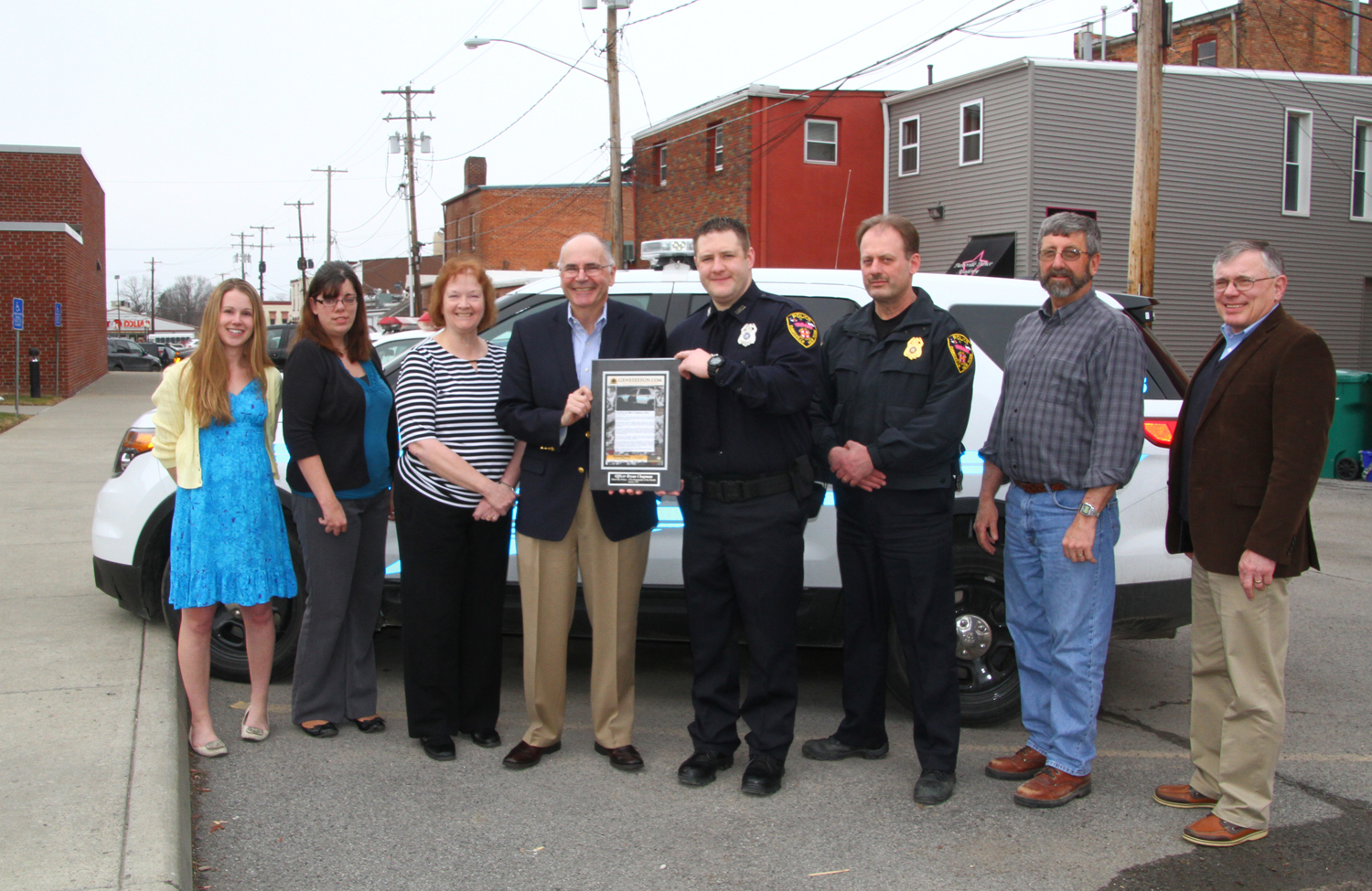 Cool-Nerved Officer Chapman Recognized for Heroic Valor