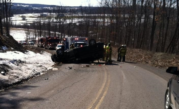 St. Patrick's Day Drunk Driver Walks Away from Rollover