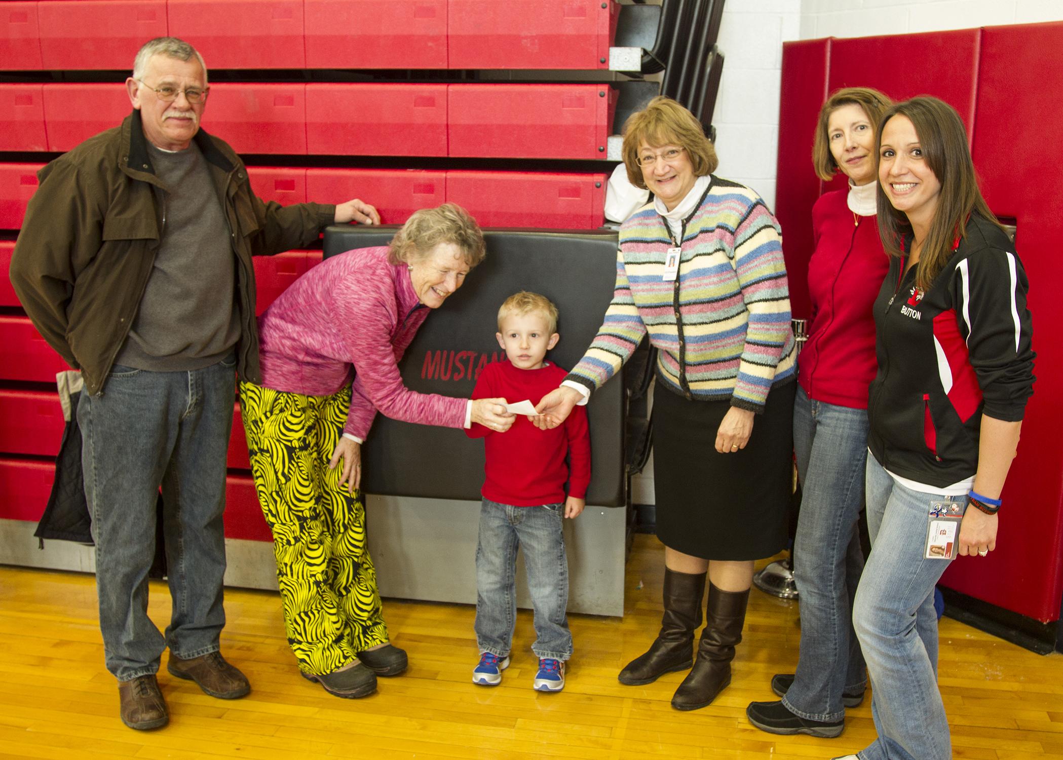 Kids Jump Forward with Noyes at Jump-a-Thon