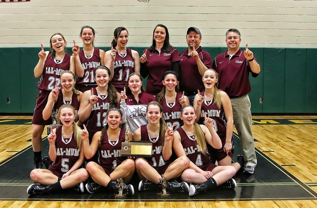 Girls Basketball: Cal-Mum Wins Section Title in Late Game Comeback