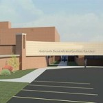 An artist's rendering of what the new facility will look like. (Image/Noyes Health)