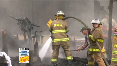 Victim in Sparta Fatal Fire Identified by Dental Records