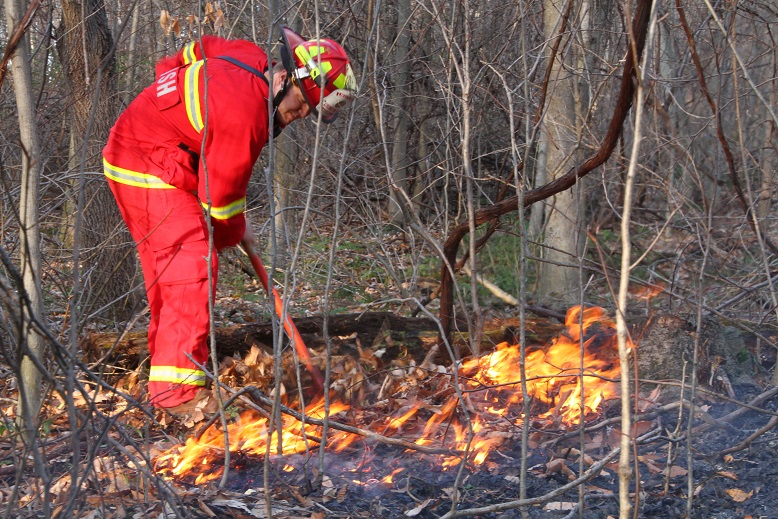 Avon Forest Fire Sends First Responders Offroad