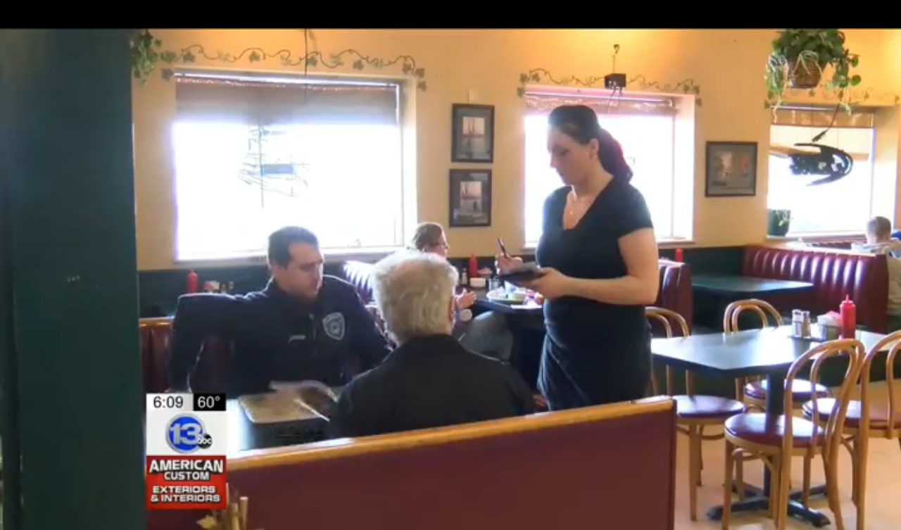 Omega Waitress Given $102 Tip in Memory of Mom