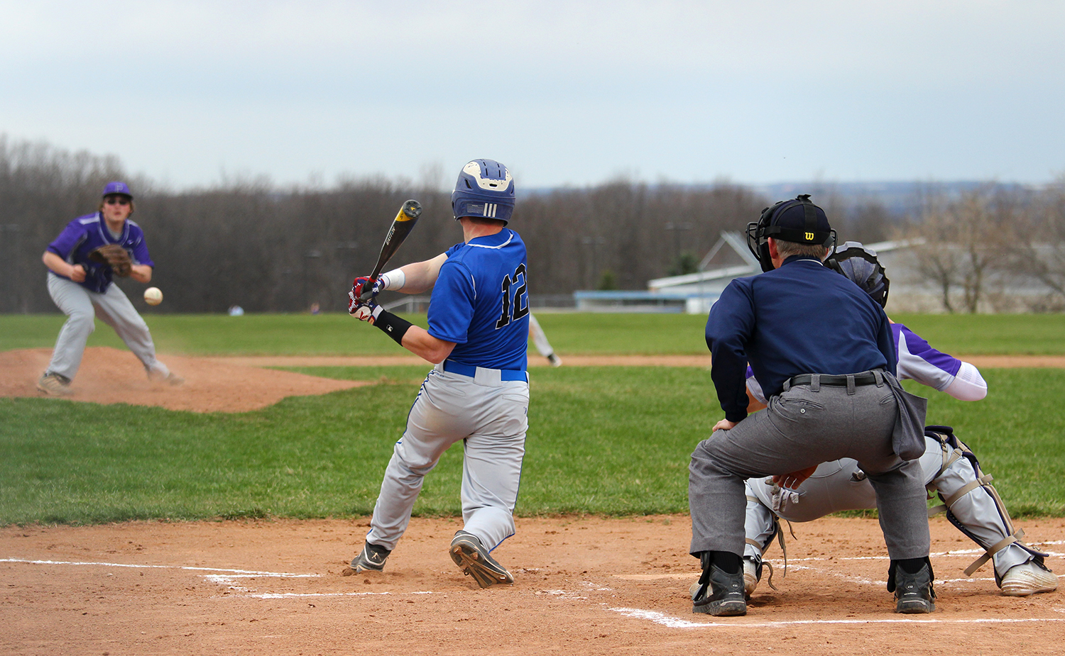 Boys Baseball: Geneseo Blows Out Pavilion in Home Opener