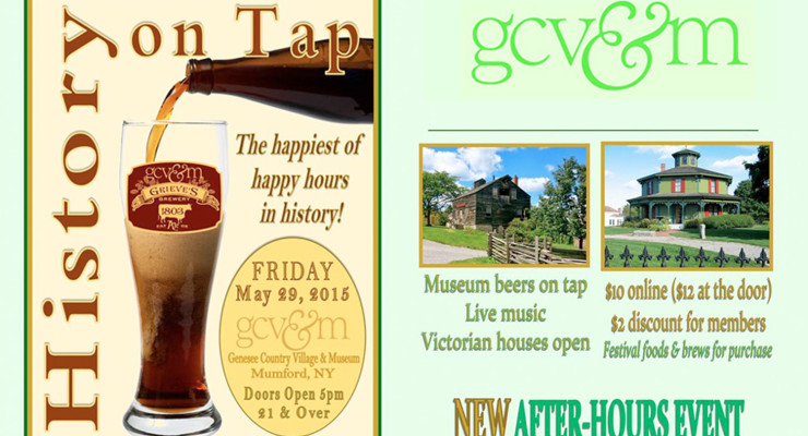 History on Tap Event at Genesee Country Village and Museum