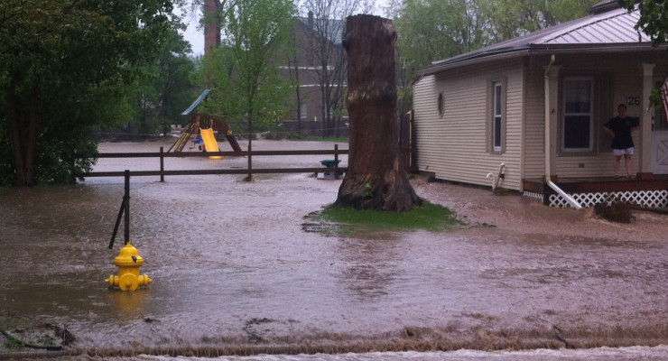 Avon Plans to Divert Future Floodwaters from Lake Road