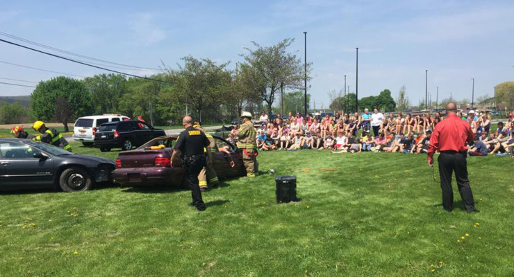 First Responders Team up to Educate Youths on DWI Dangers