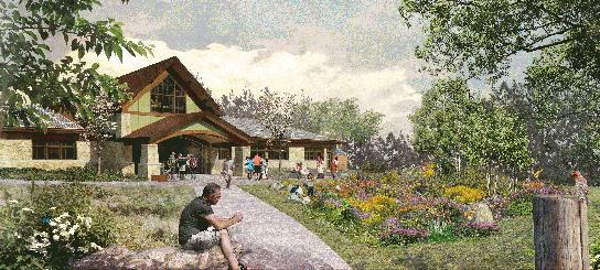 Letchworth Nature Center Plants its Roots at Groundbreaking