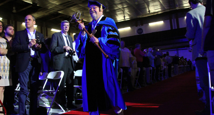 Duffy Delivers at SUNY Geneseo 149th Commencement