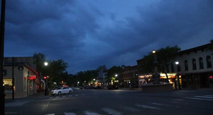 Severe Thunderstorm Warning for Livingston County