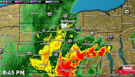 Severe Thunderstorm Warning in Effect until 5:15 PM