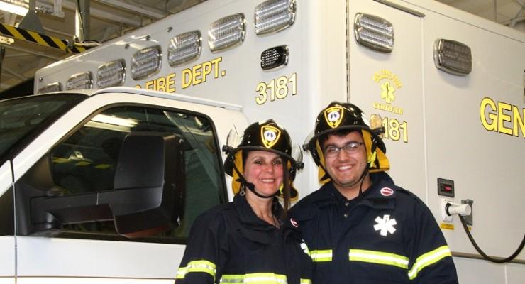 Geneseo EMT-in-Training Brings Long Island Mom for EMS Week